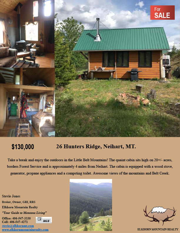 home for sale in White Neihart, MT